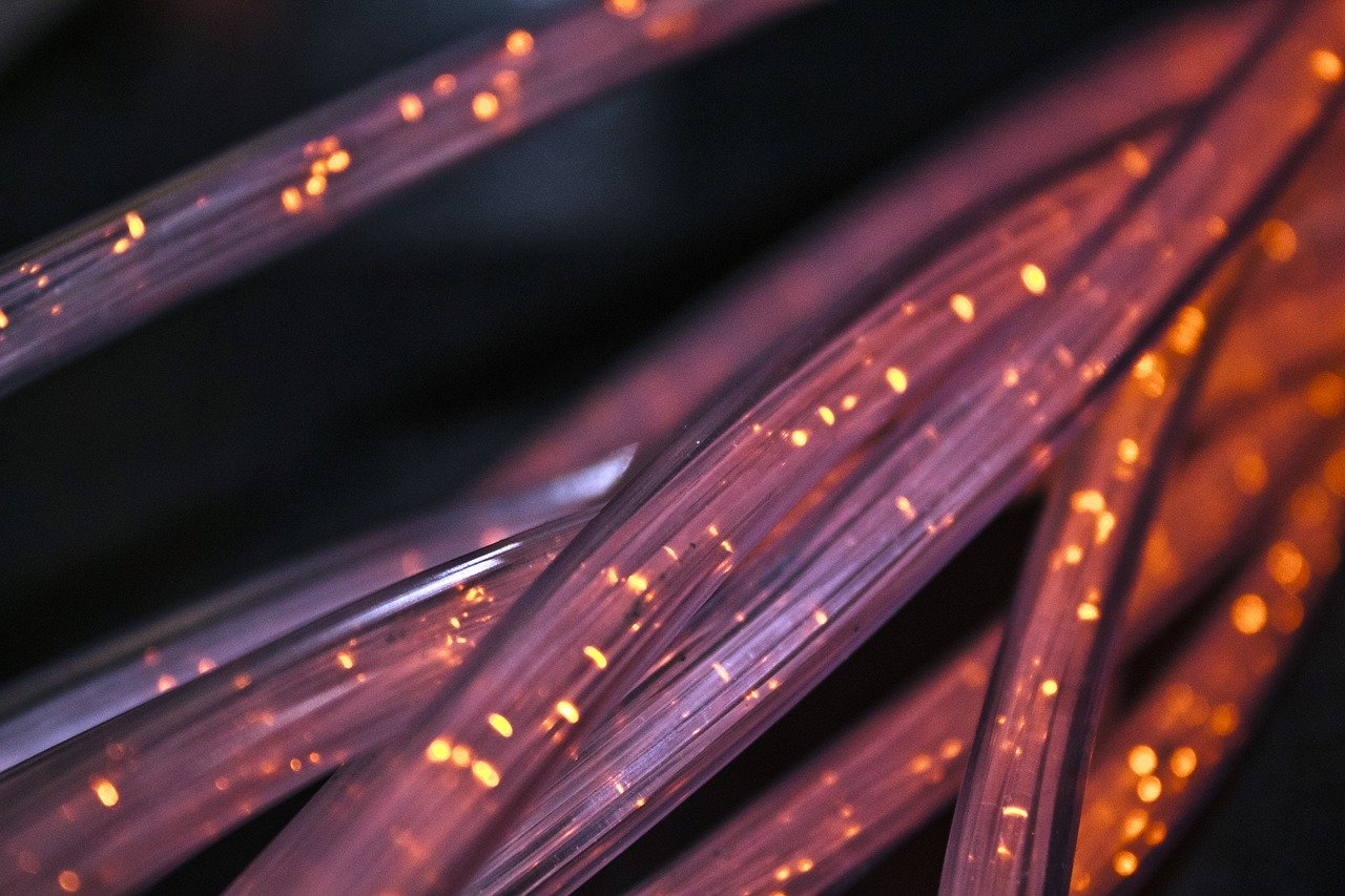 Super fast firbre network cabling
